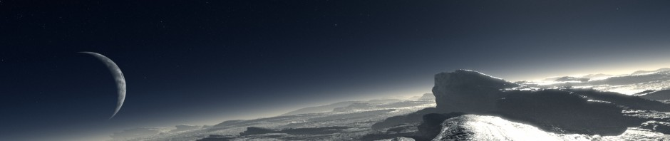 Artist's depiction of Pluto. Credit: ESO/L. Calçada